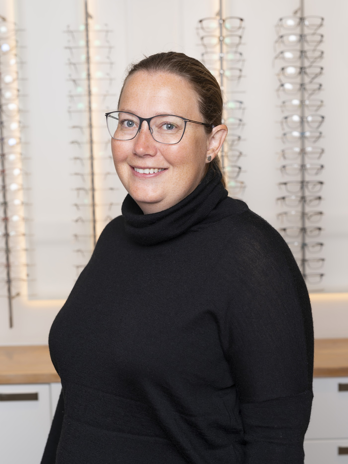 Bilde av optiker Cathrine